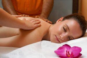 Massage Centre Islamabad female having massage