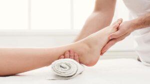 panchkarma foot massage