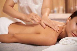 back body massage